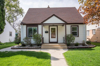 West Allis Single Family Home Active Contingent With Offer: 8727 W Becher St