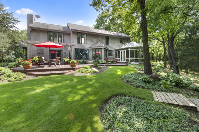 Lake Geneva Single Family Home For Sale: 7340 Hilltop Ln