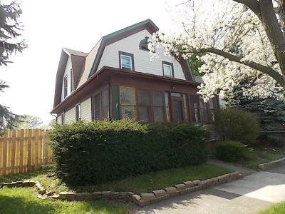 Racine Single Family Home For Sale: 2116 Green St