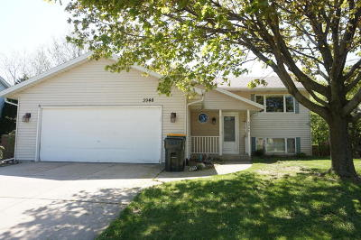 Slinger Single Family Home Active Contingent With Offer: 3948 Elaines Way