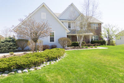 Menomonee Falls Single Family Home Active Contingent With Offer: W131n6620 Crestwood Dr