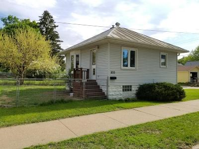 Single Family Home For Sale: 820 North St