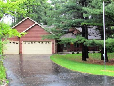 Lake Geneva Single Family Home Active Contingent With Offer: 6572 Deerpath Rd