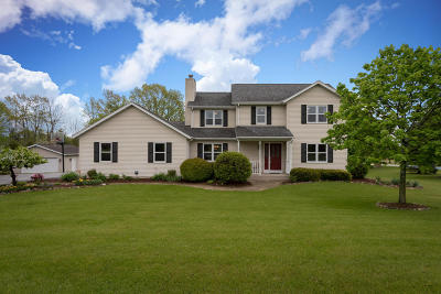 West Bend Single Family Home Active Contingent With Offer: 7312 Stonefield Ct