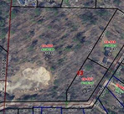 Menominee County, Marinette County Residential Lots & Land For Sale: Lt0 Twin Pine Ln