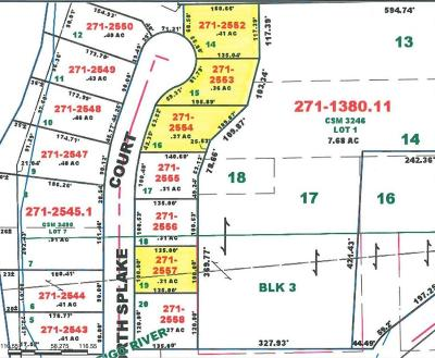 Menominee County, Marinette County Residential Lots & Land For Sale: Lot 16 North Splake Ct