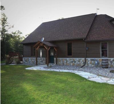 Single Family Home For Sale: N7557 Parkway Rd