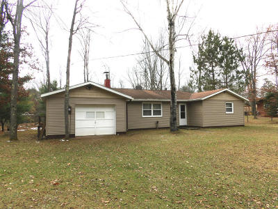 Marinette County Single Family Home For Sale: N10431 Parkway Rd