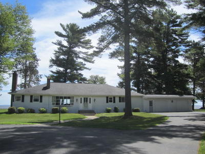 Marinette Single Family Home For Sale: N1768 Shore Dr