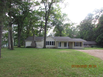 Single Family Home For Sale: N7277 Shaffer Rd