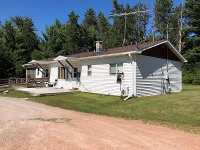 Single Family Home For Sale: W7895 Amberg Wausaukee Rd