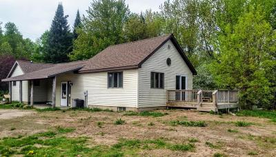 Marinette County Single Family Home For Sale: W5480 Raven Rd