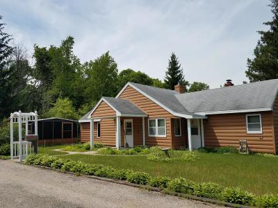 Single Family Home Active Contingent With Offer: N7715 Laplante Crt