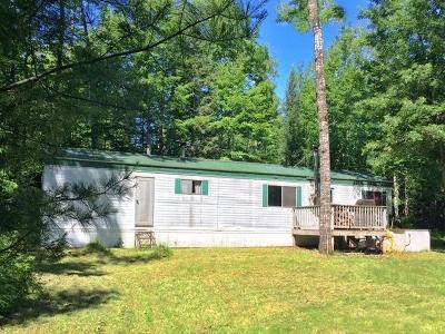 Marinette County Single Family Home For Sale: W11187 Lane #2