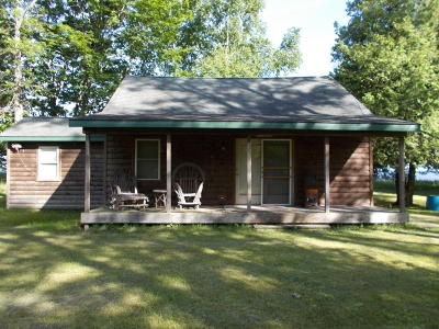 Menominee Single Family Home For Sale: N3582 State Hwy M-35