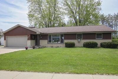 Kewaskum WI Single Family Home For Sale: $239,900