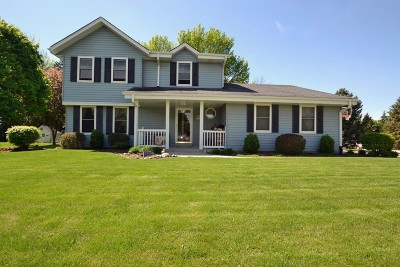 Muskego Single Family Home Active Contingent With Offer: S74w14375 Settler Way