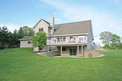 Single Family Home For Sale: W377s6221 County Road Zc