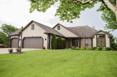 Pleasant Prairie WI Single Family Home For Sale: $389,900