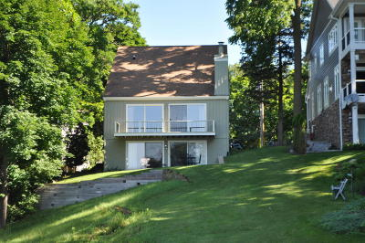 Mukwonago Single Family Home For Sale: W1785 Lake Rd