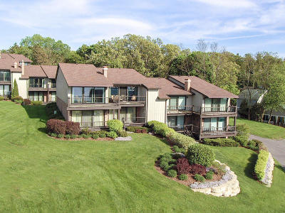 Lake Geneva Condo/Townhouse Active Contingent With Offer: 1070 S Lake Shore Dr #13 A-2