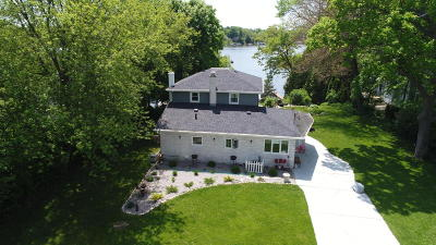 Oconomowoc Single Family Home For Sale: N55w34745 Lake Dr #W34747