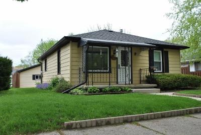 Waukesha WI Single Family Home Active Contingent With Offer: $149,900