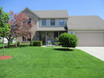 Pleasant Prairie WI Single Family Home For Sale: $364,900