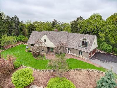 Waukesha County Single Family Home For Sale: W332n6115 County Road C