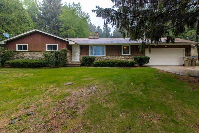 Pleasant Prairie WI Single Family Home Active Contingent With Offer: $265,000