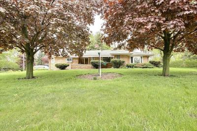 Germantown Single Family Home For Sale: N96w15782 County Line Rd