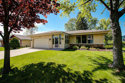 Greenfield Single Family Home Active Contingent With Offer: 3411 W Bridge St