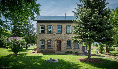 Mayville Single Family Home Active Contingent With Offer: N8515 Bay View Rd