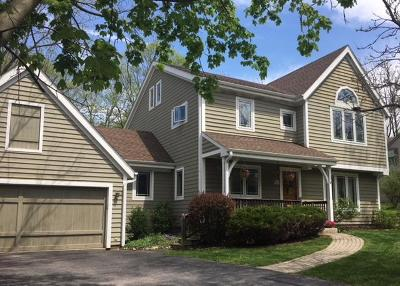 Pewaukee Single Family Home Active Contingent With Offer: W275n2536 Wildflower Rd