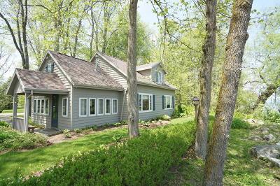 Ozaukee County Single Family Home For Sale: 6952 Sauk Trail Bch Rd