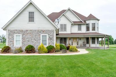 Eagle Single Family Home For Sale: S108w39780 Oregon Trl