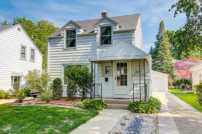 Whitefish Bay Single Family Home Active Contingent With Offer: 930 E Meadow Pl