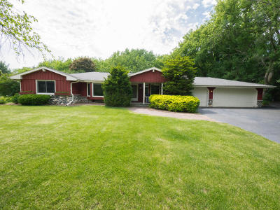Nashotah Single Family Home Active Contingent With Offer: W328n4093 Allandale Dr