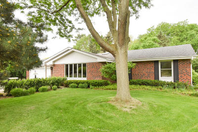 Brookfield Single Family Home Active Contingent With Offer: 4765 N 186th St