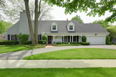 Whitefish Bay Single Family Home Active Contingent With Offer: 4611 N Lake Dr