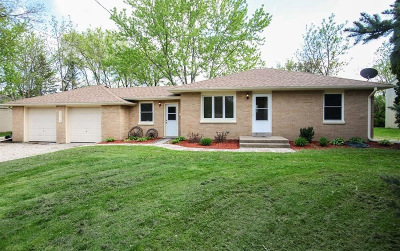 Wind Lake Single Family Home Active Contingent With Offer: 26519 Oakridge Dr