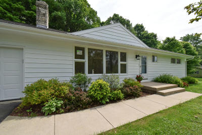 Ozaukee County Single Family Home Active Contingent With Offer: 8813 Western Ave
