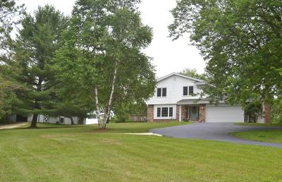 Mukwonago Single Family Home For Sale: W314s8108 Whitmore Rd