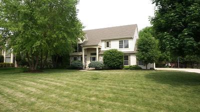 Pewaukee Single Family Home For Sale: N25w26444 Bucks Island Ct