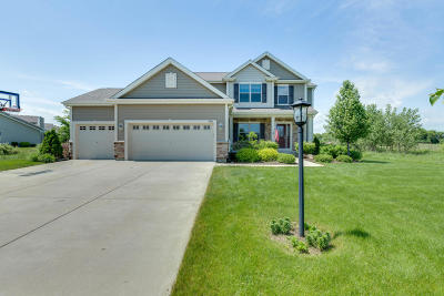 Pleasant Prairie WI Single Family Home Active Contingent With Offer: $399,900