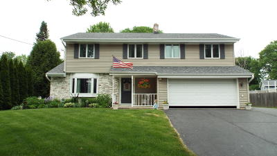 Pewaukee Single Family Home Active Contingent With Offer: 111 Riverside Dr