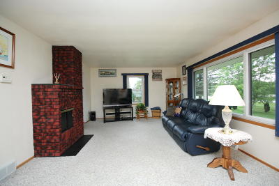 Jefferson County Single Family Home Active Contingent With Offer: N8124 Rock River Rd