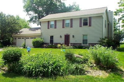 Hartland Single Family Home Active Contingent With Offer: 1054 Woodbridge Ct