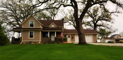 Racine County Single Family Home For Sale: 8525 W 7 Mile Rd