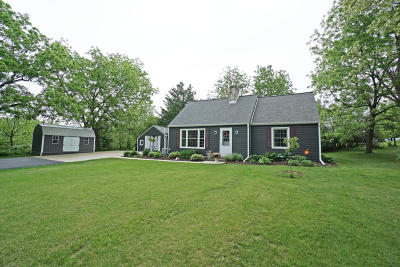 Pewaukee Single Family Home Active Contingent With Offer: W263n2966 Prospect Ave